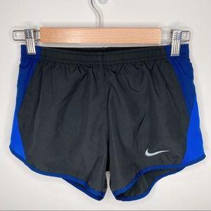 Nike Air Tempo Dri-Fit running shorts blue & black